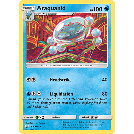 Araquanid (65/236) Cosmic Eclipse