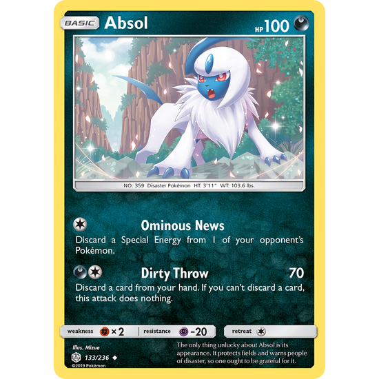 Absol (133/236) Cosmic Eclipse