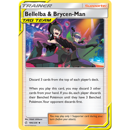 Bellelba & Brycen-Man (186/236) Cosmic Eclipse