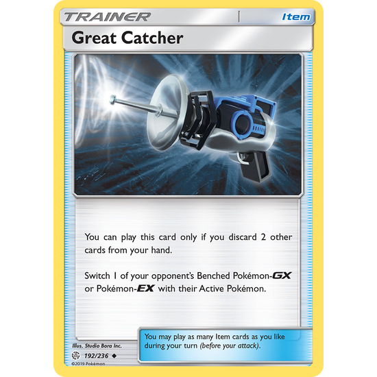 Great Catcher (192/236) Cosmic Eclipse