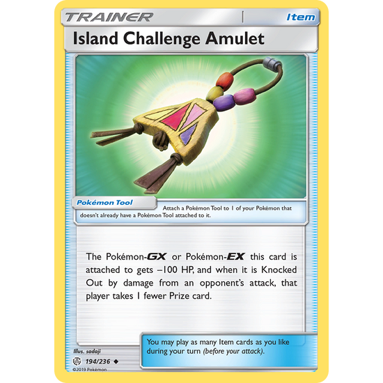 Island Challenge Amulet (194/236) Cosmic Eclipse