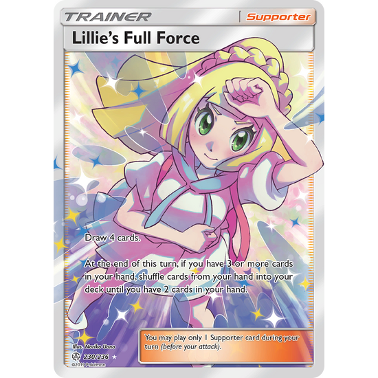 Lillies Full Force Full Art (230/236) Cosmic Eclipse