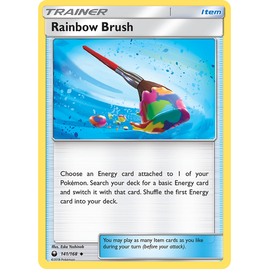 Rainbow Brush (141/168) Celestial Storm