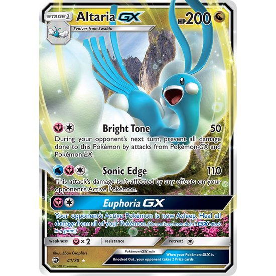 Altaria-GX (41/70) Dragon Majesty