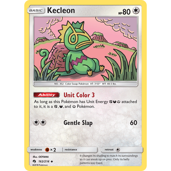 Kecleon (162/214) Lost Thunder