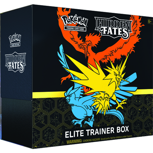 **DAMAGED** Hidden Fates Elite Trainer Box - IN STOCK