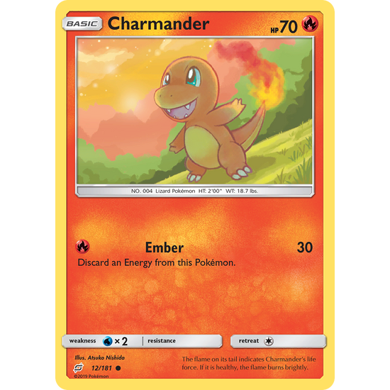 Charmander (12/181) Team Up