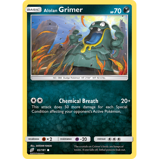 Alolan Grimer (83/181) Team Up