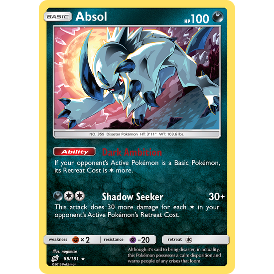 Absol (88/181) Team Up