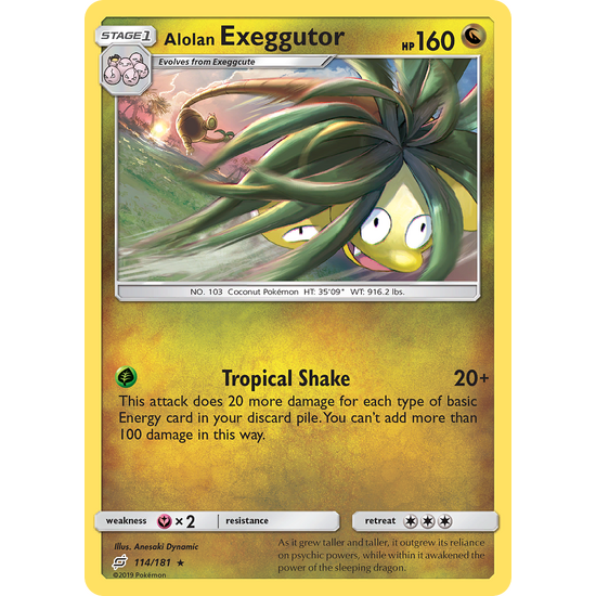 Alolan Exeggutor (114/181) Team Up