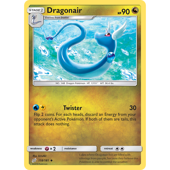 Dragonair (118/181) Team Up