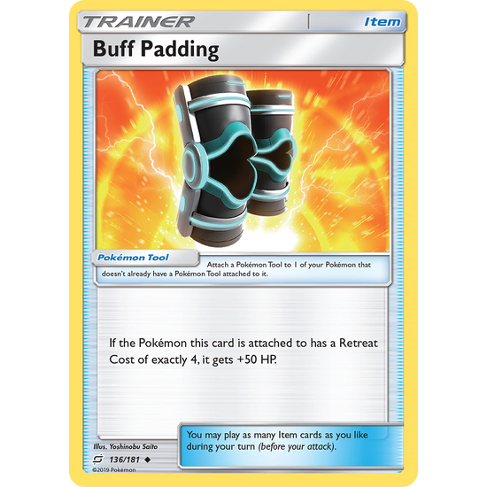 Buff Padding (136/181) Team Up