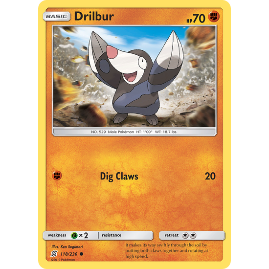 Drilbur (118/236) Unified Minds