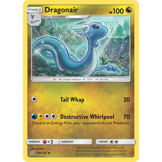 Dragonair (150/236) Unified Minds
