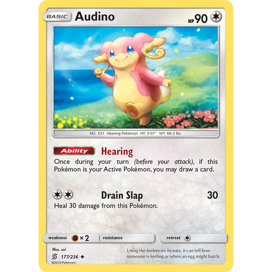 Audino (177/236) Unified Minds