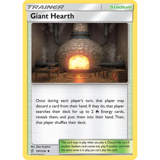 Giant Hearth (197/236) Unified Minds